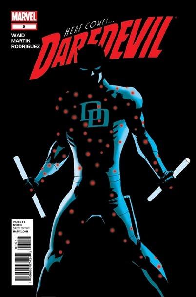 Daredevil #5 (2011) cover