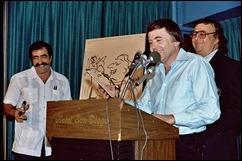 Sergio Aragones, Shel Dorf, Walter Koenig