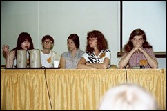Women in comics panel
