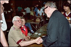 Carl Barks and Burne Hogarth