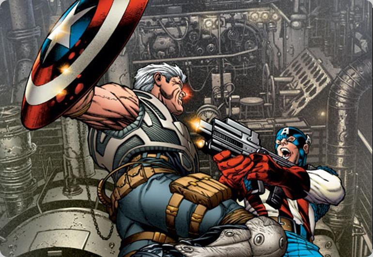 Avengers: X-Sanction #1 Retailer incentive Cover Quesada
