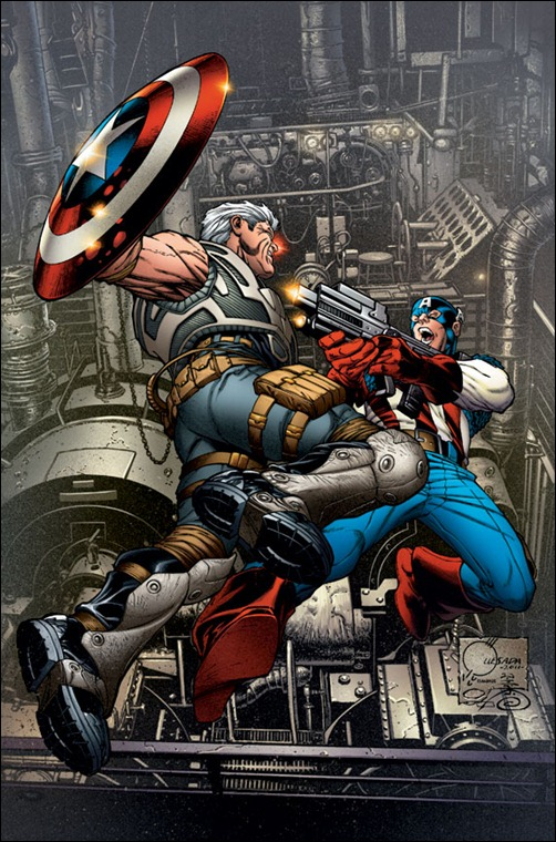 Avengers: X-Sanction #1 Retailer incentive Cover Quesada