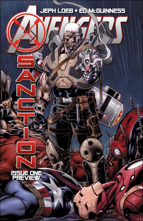 Avengers: X-Sanction #1 cover