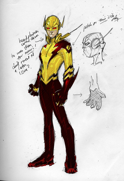 Character Design In Flash : Dc comics previews character designs for new