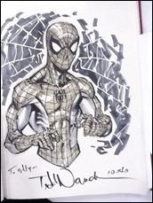 Spider-Man sketch by Todd Nauck