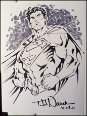 Superman sketch by Todd Nauck