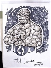 The Thing (FF) sketch by Todd Nauck