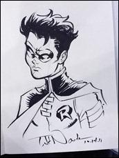 Tim Drake sketch by Todd Nauck