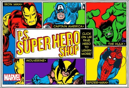 Super Hero Shop - PS From Aeropostale