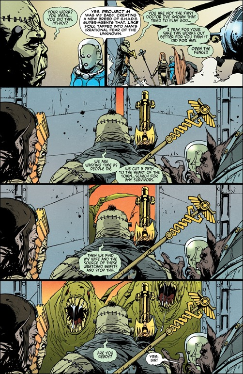 Frankenstein, Agent of S.H.A.D.E. #1