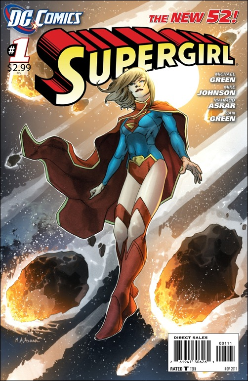 Supergirl #1 cover