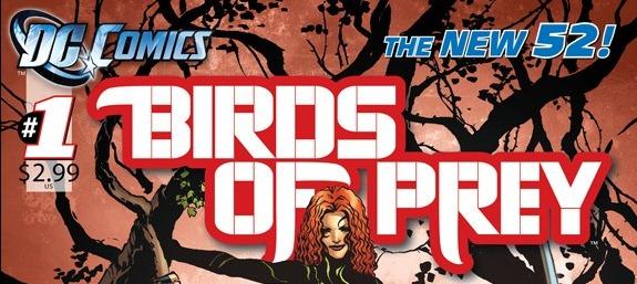 Dc Comics New 52 Preview Birds Of Prey 1 By Duane Swierczynski