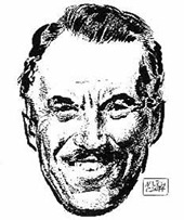 Russ Manning by Milton Caniff