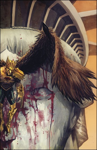 THE SAVAGE HAWKMAN #4