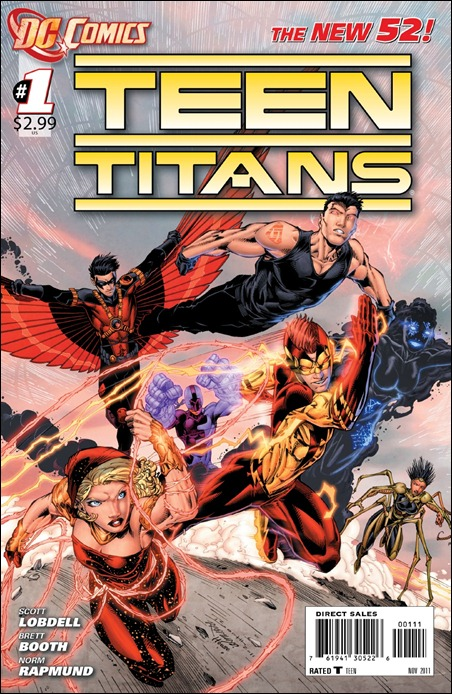 Teen Titans #1 (2011) cover