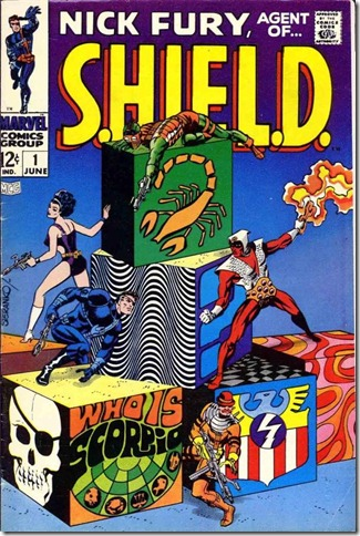 Nick Fury, Agent of SHIELD #1