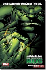 Incredible Hulks ends with issue #635!
