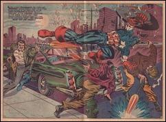 Captain America 111 splash Jim Steranko