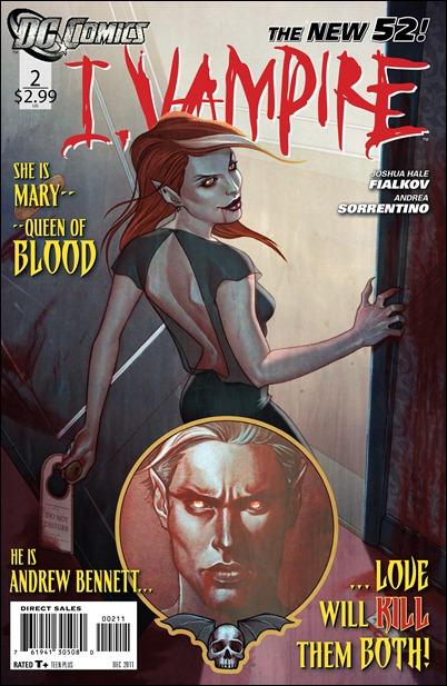 I Vampire #2 cover