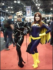 Batgirl and Catwoman