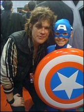Paul Pope and little Captain America