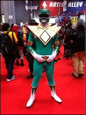 Power Ranger cosplay