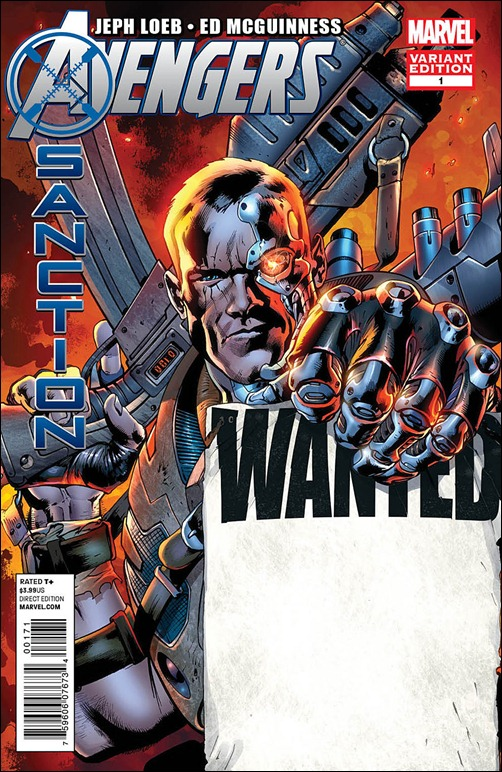 Avengers: X-Sanction Wanted Variant