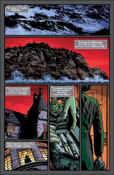 Dark Shadows #1 pg 1