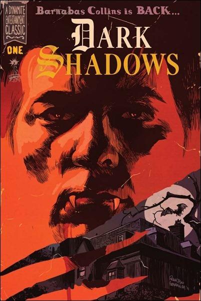 Dark Shadows #1 Francavilla cover