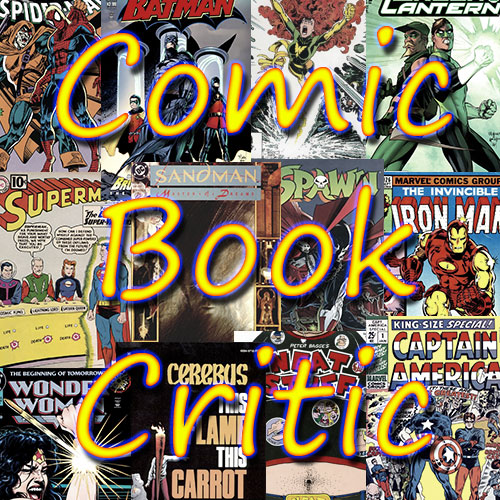 Comic Book Critic Logo