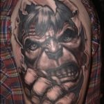 Cool Comic Book Tattoos
