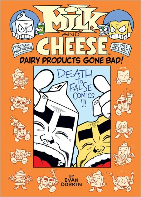 Milk and Cheese: Dairy Products Gone Bad HC cover