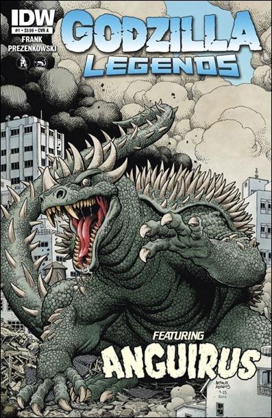 Godzilla Legends cover A