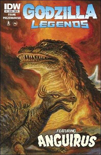 Godzilla Legends cover B