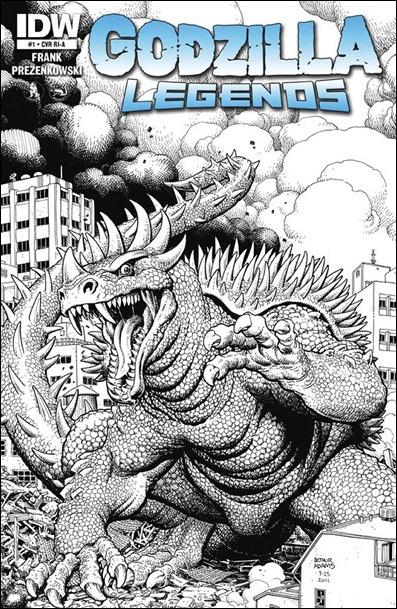 Godzilla Legends cover RI-A