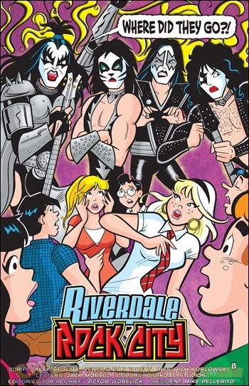 Archie #627 pg1 - Archie Meets Kiss