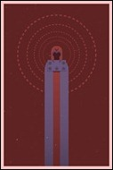 Magneto print by Michael Myers