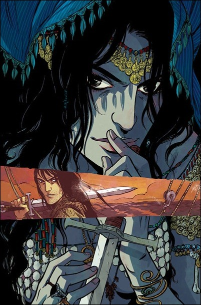 Conan the Barbarian #1 Becky Cloonan variant cover