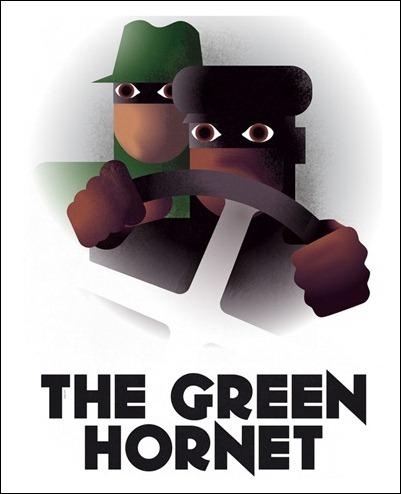 Green Hornet by Greg Guillemin