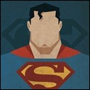 Superman mugshot print by Michael Myers