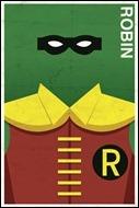 Robin print by Michael Myers