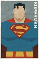 Superman print by Michael Myers