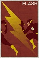 Flash print by Michael Myers