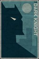 Dark Knight print by Michael Myers