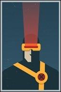 Cyclops print by Michael Myers