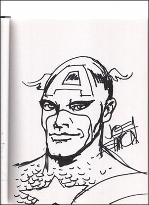 Captain America -- Joe Simon Big Apple Con 05