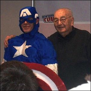 JoeSimonatNYComicCon2006
