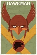 Hawkman print by Michael Myers
