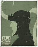 Loki print by Michael Myers