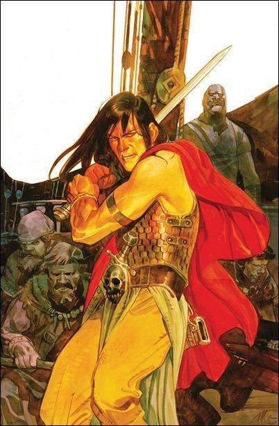 Conan the Barbarian #1 Massimo Carnevale cover
